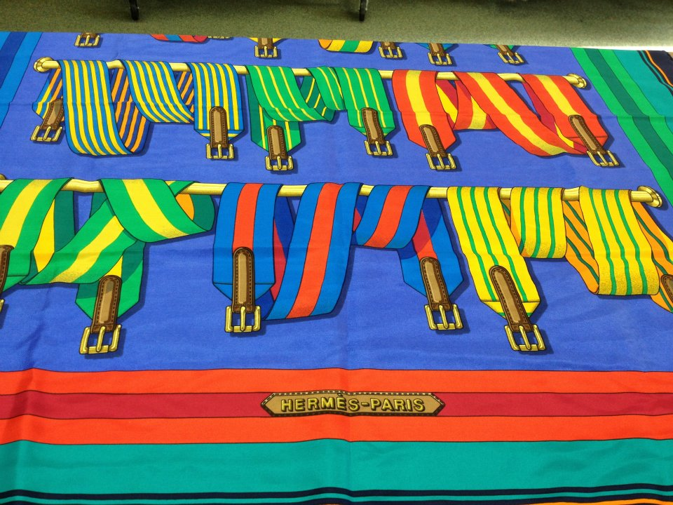 Hermes scarf $239, at Englewood NJ store